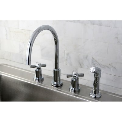 Millennium Widespread Kitchen Faucet Finish: Polished Chrome