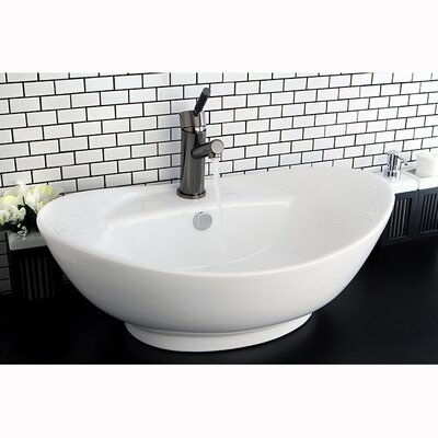 Harmon Oval Vessel Bathroom Sink