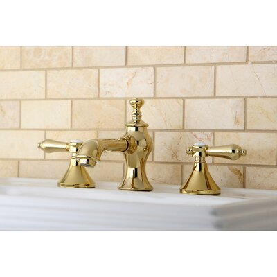 Bel Air Double Handle Widespread Bathroom Faucet with Pop-Up Drain Finish: Polished Brass