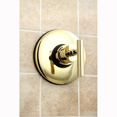 Concord Wall Volume Control Valve Finish: Polished Brass