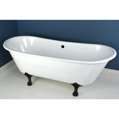 Aqua Eden Soaking Bathtub Finish: Oil Rubbed Bronze