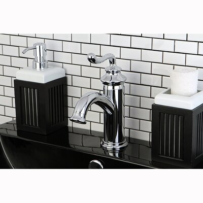 Royale Single Handle Centerset Bathroom Faucet with Pop-Up Drain Finish: Chrome