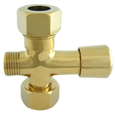 Vintage Shower Diverter Finish: Polished Brass