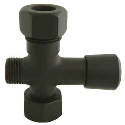 Vintage Shower Diverter Finish: Oil Rubbed Bronze