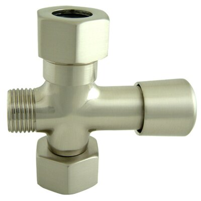 Vintage Shower Diverter Finish: Satin Nickel