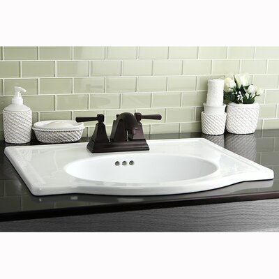 Monarch Double Handle Centerset Bathroom Faucet with Pop-Up Drain Finish: Oil Rubbed Bronze