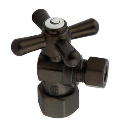 Vintage Angle Stop Finish: Oil Rubbed Bronze