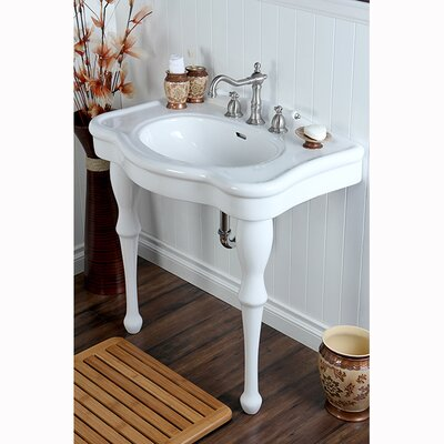 Duchess Vitreous 34 Bathroom Sink with Console