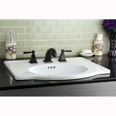 Monarch Double Handle Widespread Bathroom Faucet with Pop-Up Drain Finish: Oil Rubbed Bronze