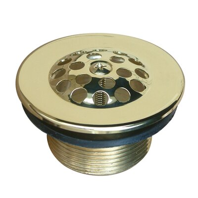 Made to Match  Grid Shower Drain Finish: Polished Brass