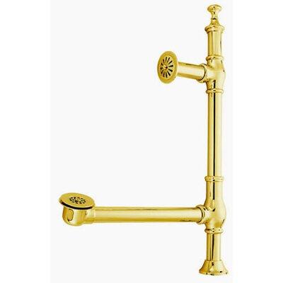 Vintage Clawfoot 1.5 Leg Tub Drain Finish: Polished Brass