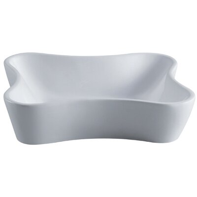 Nuevo Ceramic Specialty Vessel Bathroom Sink