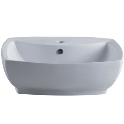 Marquis Rectangular Vessel Bathroom Sink