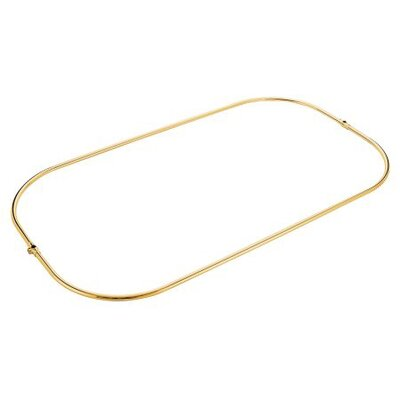 Vintage Shower Ring Finish: Polished Brass