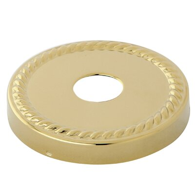 3 Rope Decor Escutcheon Finish: Polished Brass