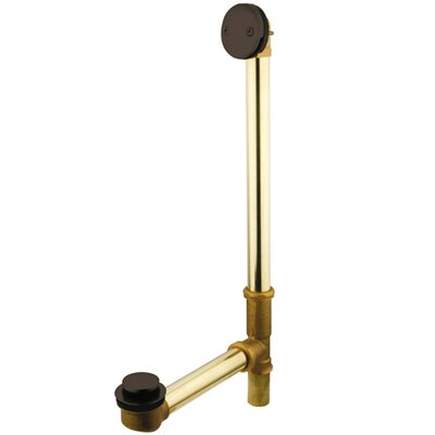 Made to Match Waste 3.19 Leg Tub Bathroom Sink Drain Finish: Oil Rubbed Bronze