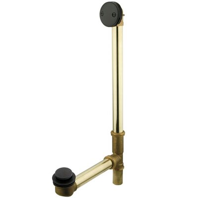 Made to Match 1.5 Leg Tub Drain Finish: Oil Rubbed Bronze