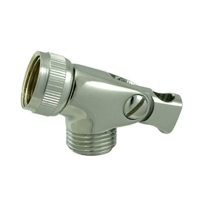 Brass Swivel Connector Finish: Polished Chrome