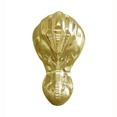 Aqua Eden 4 Piece Aluminum Eagle Claw and Ball Tub Feet Set Finish: Polished Brass