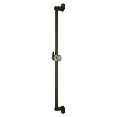 Made to Match Brass Slide Bar Finish: Oil Rubbed Bronze, Size: 30 H