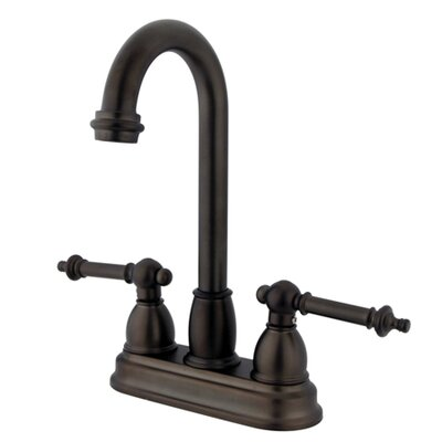 Tremont Double Handle Centerset Bar Faucet Finish: Oil Rubbed Bronze