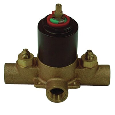 Shower Valve Finish: Oil Rubbed Bronze