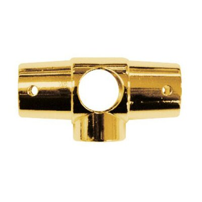 Vintage Shower Ring Connector with 5 Holes Finish: Polished Brass