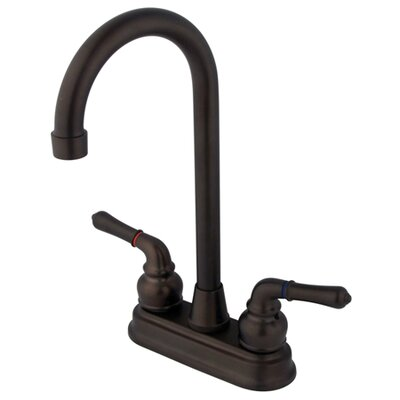 Magellan Double Handle Bar Faucet Finish: Oil Rubbed Bronze