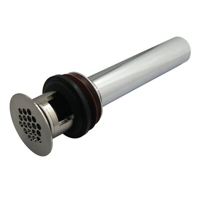 Permanent Solid 1.25 Grid Shower Drain Finish: Satin Nickel