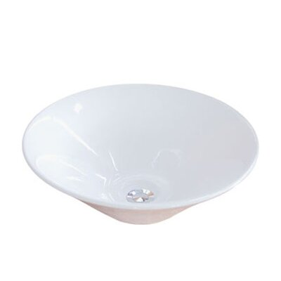 Soho Circular Vessel Bathroom Sink