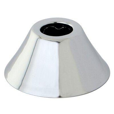 0.69 Decorative Bell Flange Finish: Polished Chrome