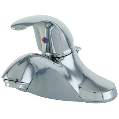 Legacy Single Handle Centerset Bathroom Faucet with ABS Pop-Up Drain Finish: Polished Chrome