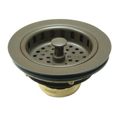 Miscellaneous Cast Brass Heavy Duty Basket Strainer Finish: Oil Rubbed Bronze