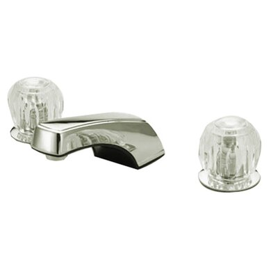 Americana Double Handle Widespread Bathroom Faucet