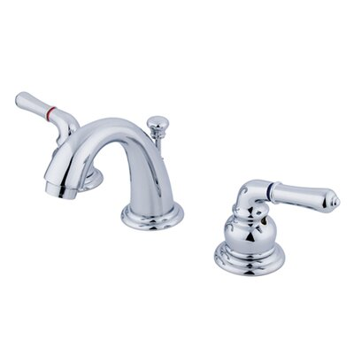 Magellan Double Handle Widespread Bathroom Faucet with 50/50 Pop-Up Drain Finish: Polished Chrome