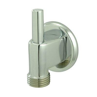 Brass Supply Elbow with Pin Finish: Polished Chrome