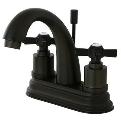Millennium Double Handle Centerset Bathroom Faucet Finish: Oil Rubbed Bronze