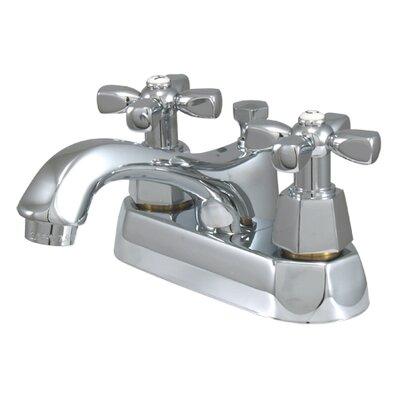 Metropolitan Double Handle Centerset Bathroom Faucet with Brass Pop-up Finish: Polished Chrome