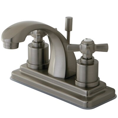 Millennium Double Handle Centerset Bathroom Faucet Finish: Satin Nickel