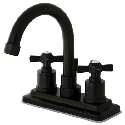 Millennium Double Handle Centerset Bathroom Faucet Finish: Oil Rubbed Bronze