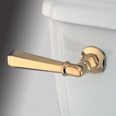 Metropolitan Toilet Tank Lever Finish: Polished Brass