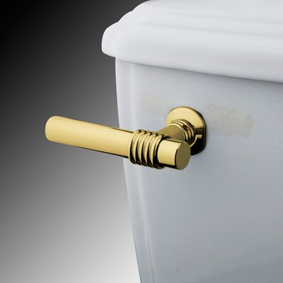 Milano Toilet Tank Lever Finish: Polished Brass
