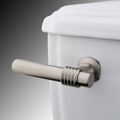 Milano Toilet Tank Lever Finish: Satin Nickel