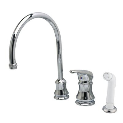 Legacy Single Handle Kitchen Faucet with Side Spray