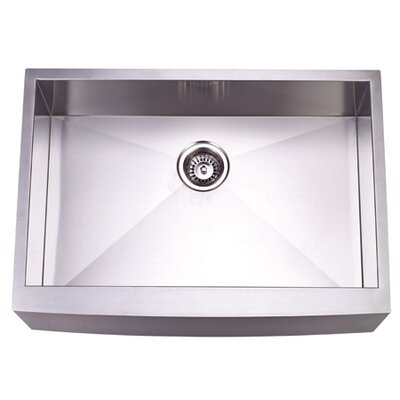 Denver 30 x 21 Gourmetier Single Bowl Farm House Kitchen Sink