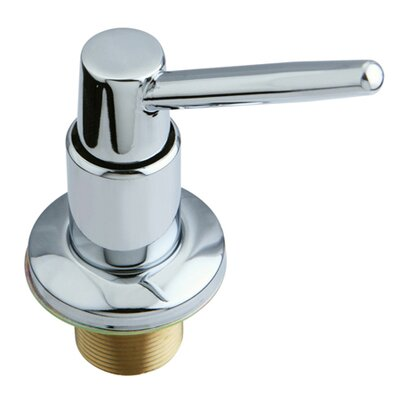 Elinvar Decorative Soap Dispenser Finish: Polished Chrome