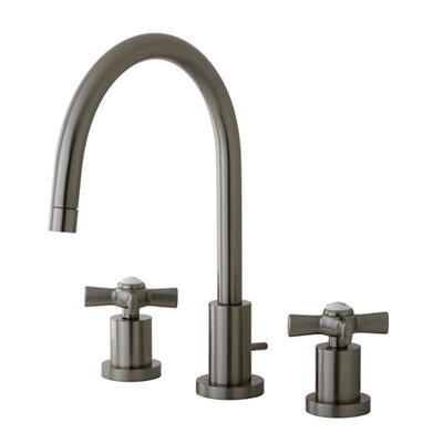Millennium Double Handle Widespread Bathroom Faucet Finish: Satin Nickel