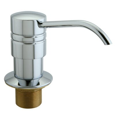 Milano Decorative Soap Dispenser Finish: Polished Chrome