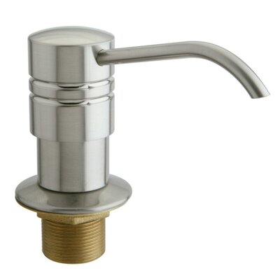 Milano Decorative Soap Dispenser Finish: Satin Nickel