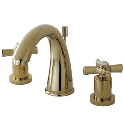 Millennium Double Handle Widespread Bathroom Faucet Finish: Polished Brass
